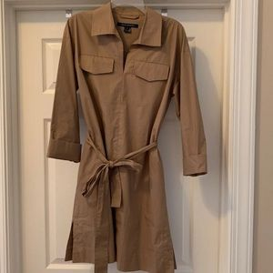 French Connection Cotton Shirt Dress NWT